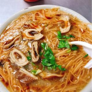 台湾苗栗の美味しいオススメ大腸麺線
