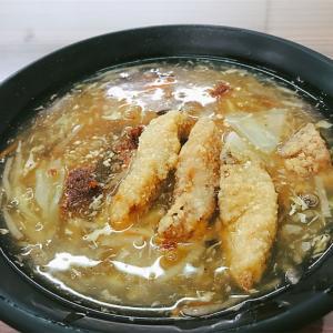 【台湾 苗栗】サクサク!サワラのフライが美味しい!𩵚魠魚焿麵