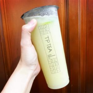 【台湾】茶湯會の期間限定ドリンク!スッキリ美味しい甘梅芭樂檸檬緑茶