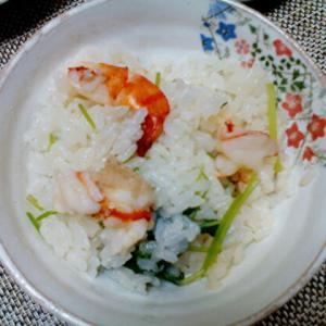 ナンプラー味の炊き込みご飯