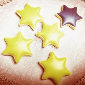 星型アイシングクッキー