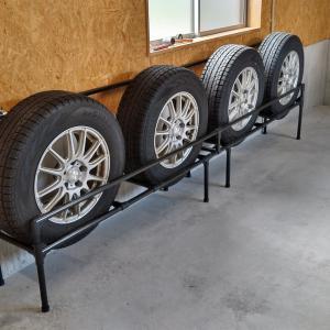 【DIY】タイヤラックを作る②