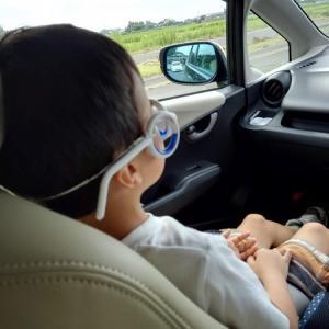 「車酔い止めメガネ」(シートロエンの類似品)を使ってみた!子供と大人が使った感想