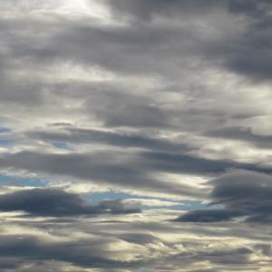 滑らかな雲