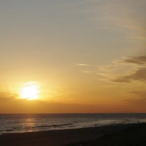 遠州灘の夕焼け 191213
