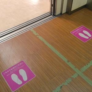 エレベーターでも