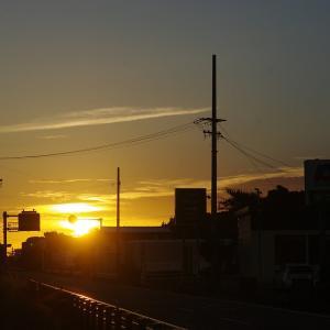 遠州灘の日の出 200911