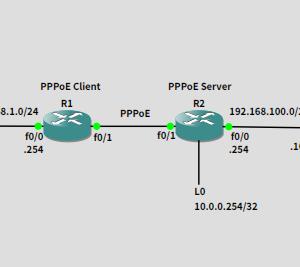 GNS3でネットワークの勉強 20191111