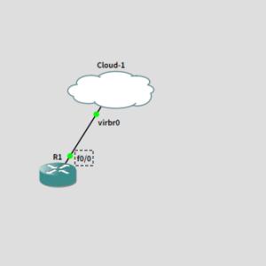 GNS3で練習 Syslogとsnmptrapの設定を入れて仮想マシンで見れるかやってみた
