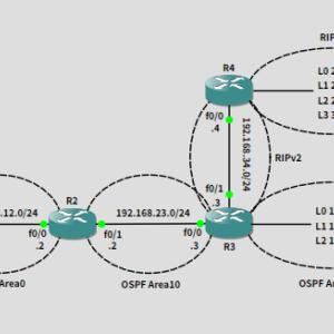 GNS3でネットワークの勉強 20191011