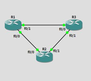 GNS3でネットワークの勉強 20191018