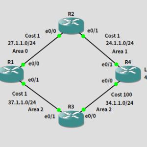 GNS3で演習 RFC 3101 and RFC 1587