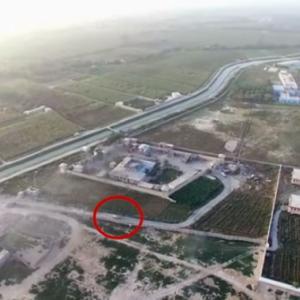 タリバンの戦闘機がアフガニスタン政府センターを爆破した衝撃映像。