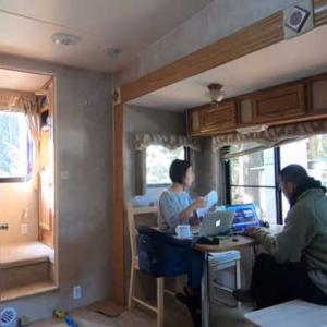 [キャンプ生活]トレーラーハウスをご紹介!安かったからな。。