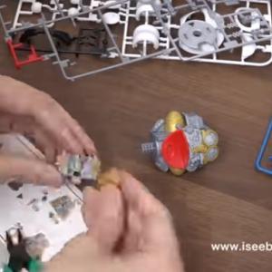 ドラえもんを作る、カレーも作る / Doraemon Plastic model. Japanese toy