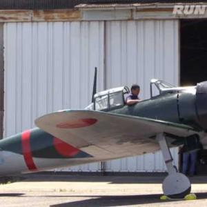150万回再生!戦後初!日本人パイロットによる零戦が舞う!日本が誇る名機の圧巻離陸![ゼロ戦]