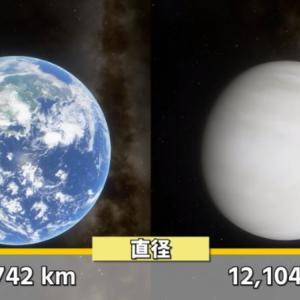 【灼熱】硫酸の雨が降る地獄の星『金星』