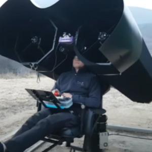 ハッブル光学サンドイッチミラーを使った宇宙の観測の仕方をご覧下さい。