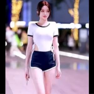 【美女】中国のモデルがキレイでスタイル抜群で足が長すぎる映像ですwww