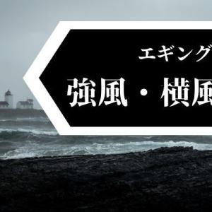 【エギング】強風・横風対策!ラインメンディングをしてしっかりとアタリをとろう!