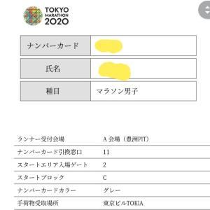 東京マラソンはCブロックスタートだ!