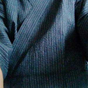 甚平さんを着る季節になった