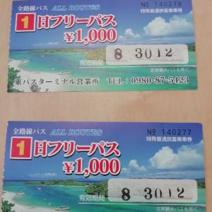 石垣島初日だよ!やっぱり海水浴だ!の巻