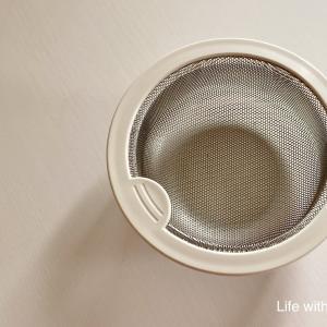 【キッチン】台所の排水口ゴミ受けをプラスチック⇒ステンレスに変えました。