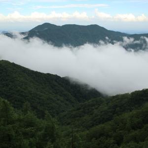 梅雨の合間、栃木百名山の絶景