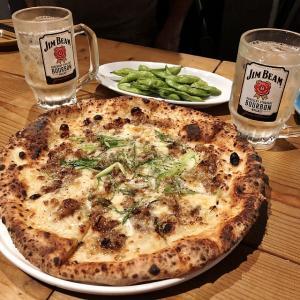 えっ!?このサイズ・クオリティのピザがこの値段っておかしくない!?、イタメシヤ 8(大阪市北区)