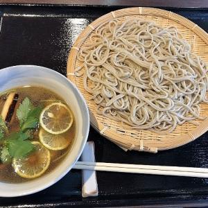 鴨たっぷりの価値あるつけそば、手打ちそば 蕎明(堺市堺区)