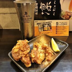 気分転換にはもってこい、食堂酒場 特製からあげ 凛~Rin~(堺市堺区)