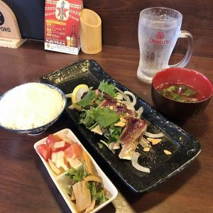 お魚ランチが意外と美味しかった、鉄板酒場 CANTARO(堺市堺区)