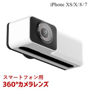 【360°映像】iPhoneにカメラレンズを装着してセンス良い映像を