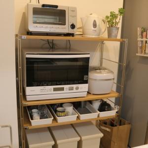 無印のユニットシェルフ(キッチン棚)でキッチン収納をスッキリ!