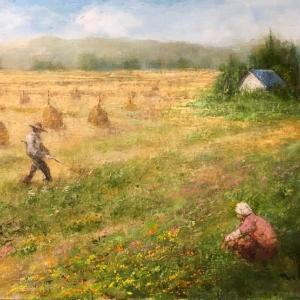「山形風景」 油画 F10  2020.7