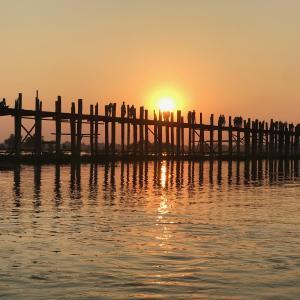 【世界一周#18】世界最長の木造の橋・ウーベイン橋(U-Bein Bridge)