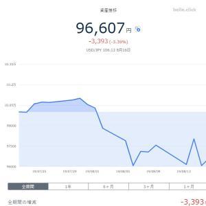 テオ ウェルスナビ 楽ラップ 4週目報告 さらに赤字幅拡大