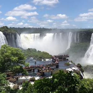 イグアスの滝!ブラジル側を楽しもう!