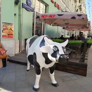 ⑨ ロシア 大衆食堂とドーナツ