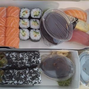 【ジョージア】トビリシで寿司の出前をとってみた