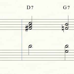 【作曲のための音楽理論】セカンダリードミナントとドッペルドミナントについて