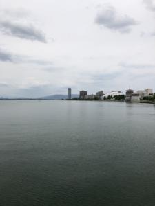 琵琶湖で釣りがしたかったんだよ!