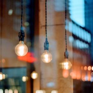 【ローコストDIY】 ブルックリン風な天井の照明にしてみた。