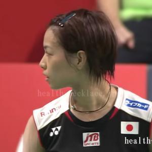 【バドミントン】福島由紀愛用のスポーツネックレス
