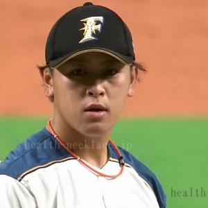 【日本ハムファイターズ】河野竜生愛用のスポーツネックレス