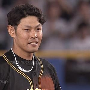 【阪神タイガース】原口文仁愛用のスポーツネックレス