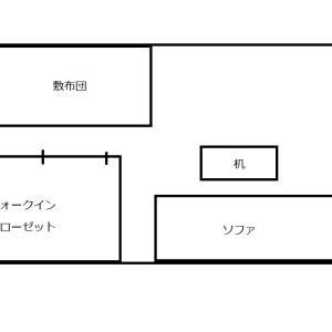 ユトラリストのシンプルな部屋