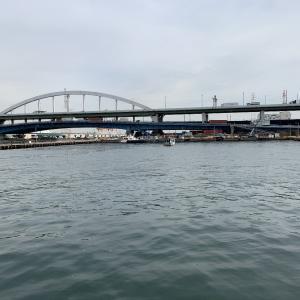 2020/01/14 南港大橋 アジングしに行ってみたけどぼーずでしたー