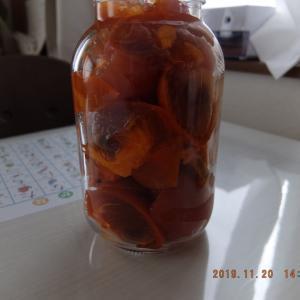 柿酢、できるかな。